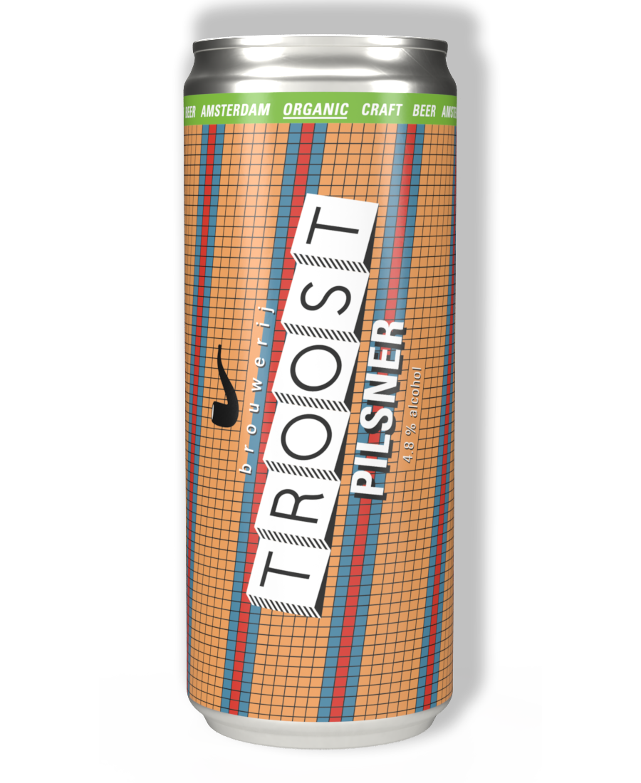Blikje Pilsner bier