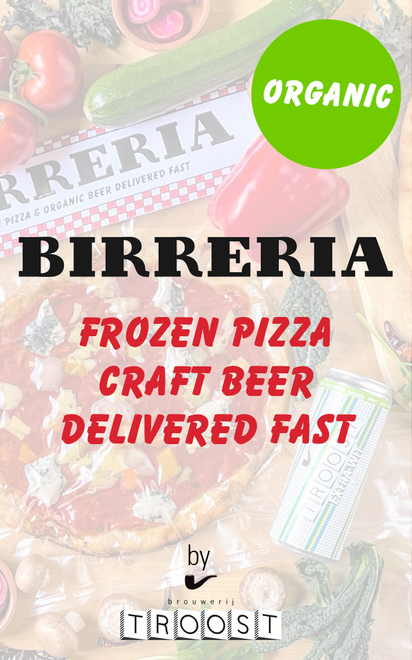 forzen pizza, craft beer, delivered fast
